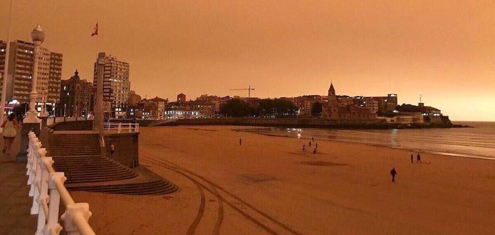 Asturias, un planeta naranja