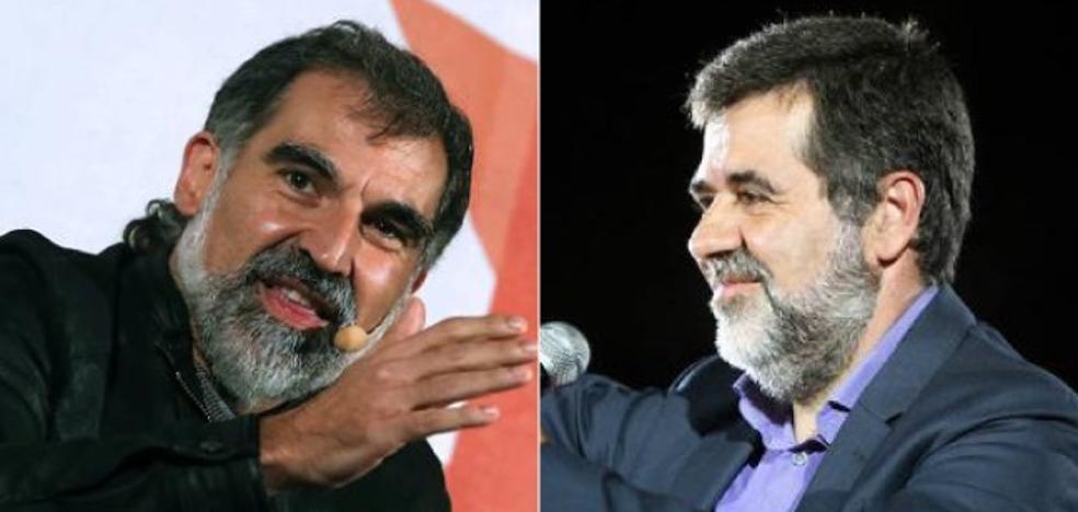 Cuixart y Sánchez, dos líderes en la sombra