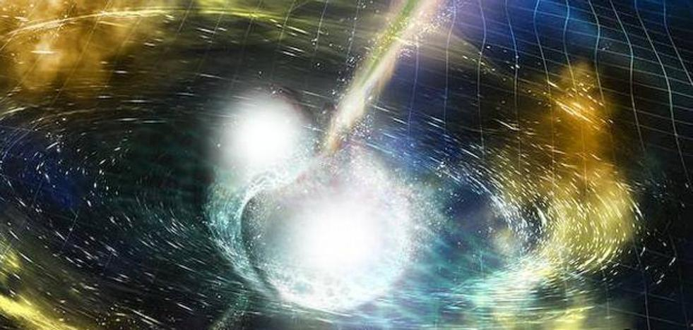 Somos polvo de estrella de neutrones