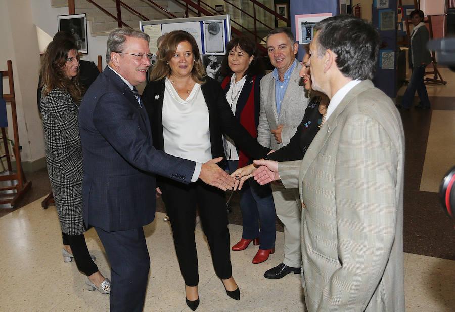 La Hispanic Society of America con estudiantes en el IES Selgas de El Pito