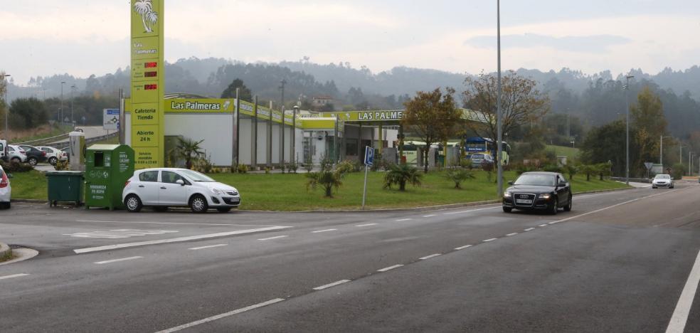 El TSJA tumba la urbanización de los accesos a la gasolinera de Ullaga