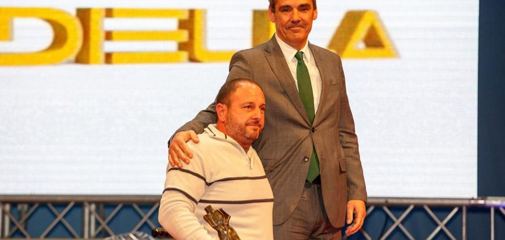 El deportista Aladino Pandiella, premio San Diego 2017