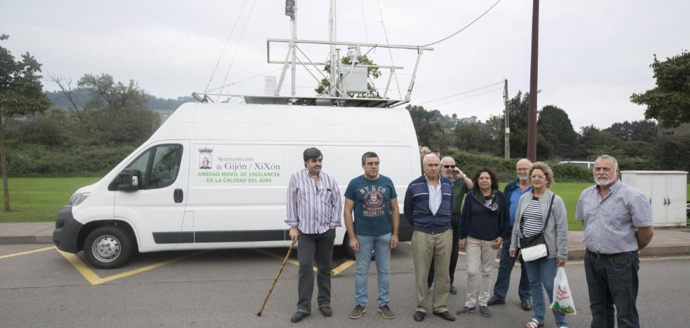 Los niveles de contaminación vuelven a dispararse en Gijón pese a las medidas de la prealerta