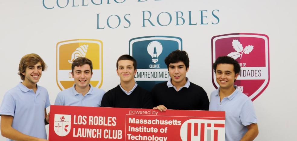 Cinco alumnos de Los Robles participarán en un programa de emprendimiento en el MIT