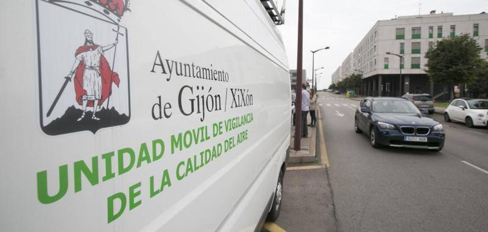 El Principado retira la prealerta por contaminación en Gijón