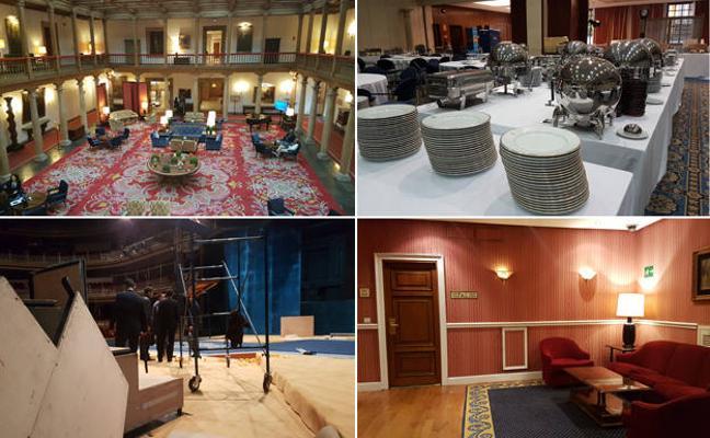Vorágine de preparativos para los Premios Princesa de Asturias