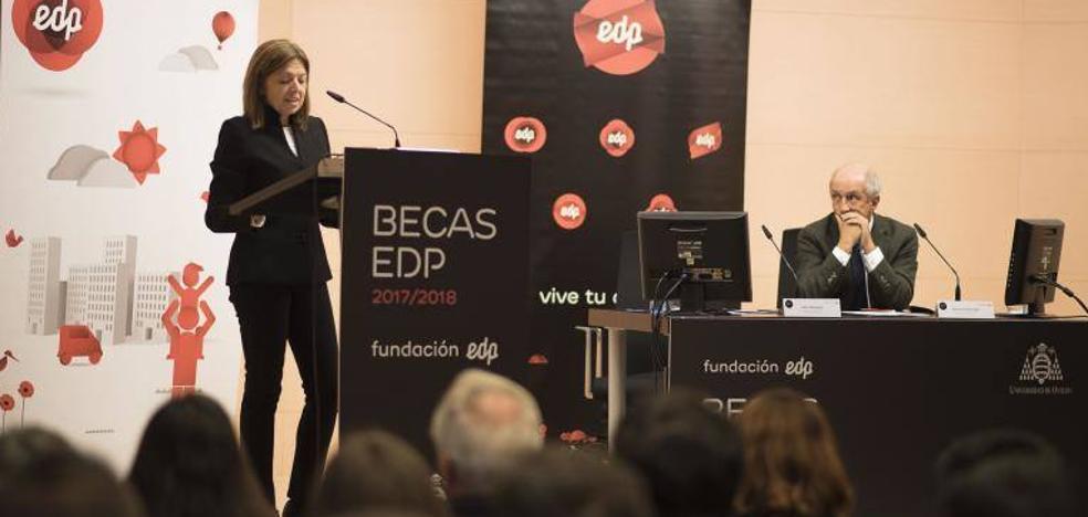 EDP recibe a los 175 alumnos de la Universidad de Oviedo que harán prácticas formativas este curso