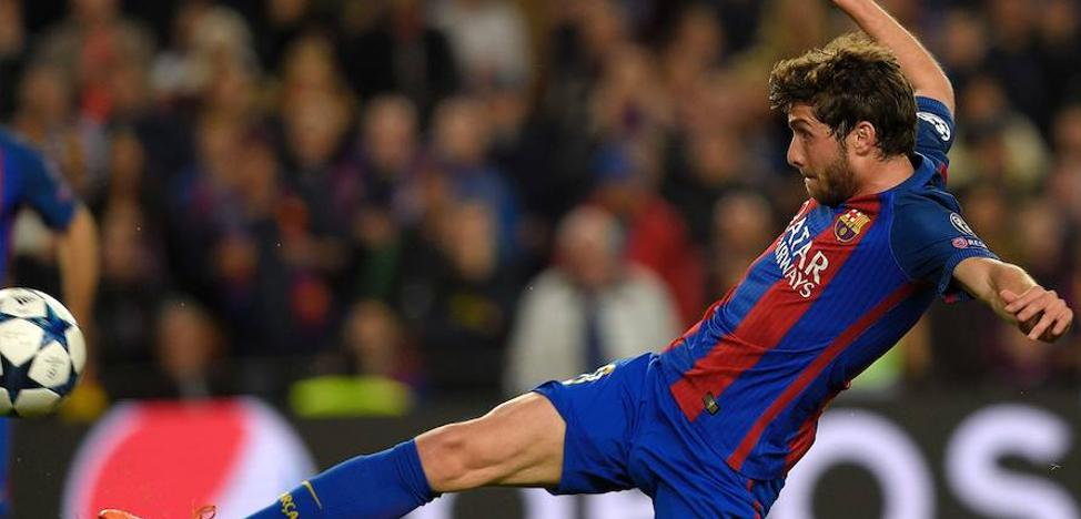 Sergi Roberto: «Messi es el mejor de la historia»