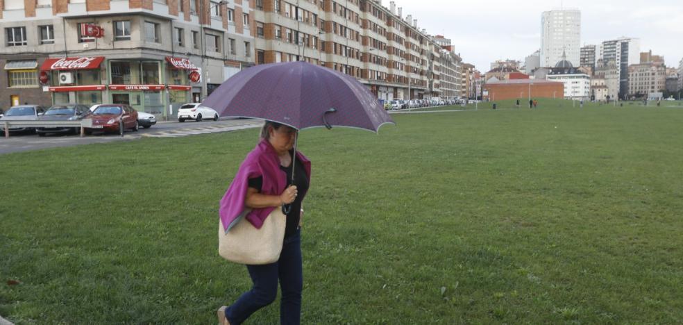 La lluvia rebaja la contaminación