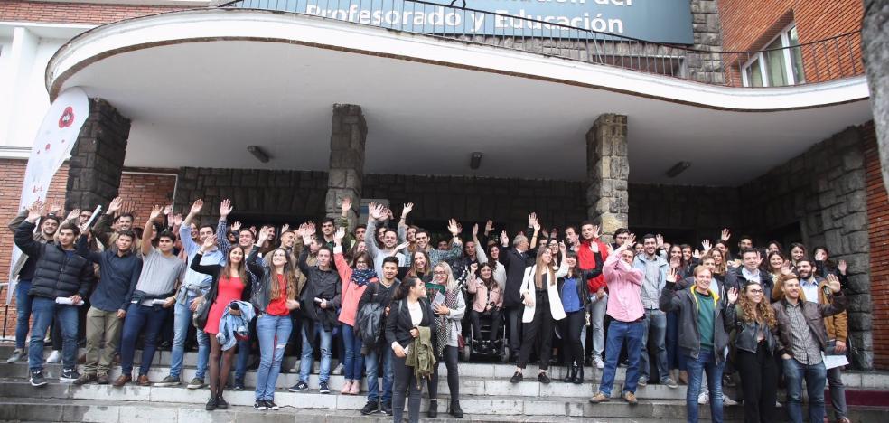 175 universitarios se incorporan al programa de prácticas de EdP