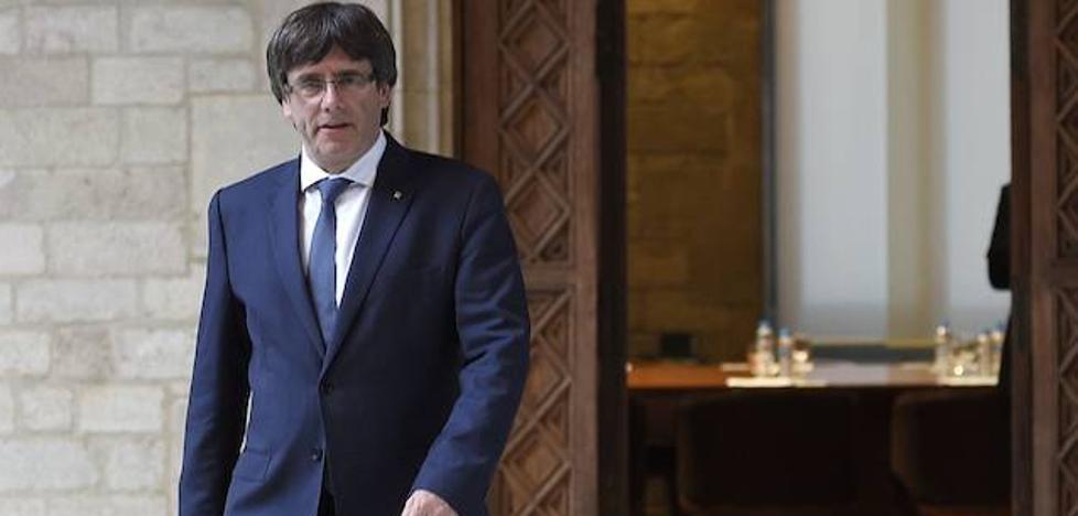 Puigdemont amenaza con votar la declaración de independencia si Rajoy aplica el 155
