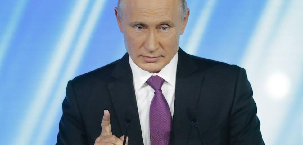 Putin: «Cuando Crimea declaró su independencia no les gustó por un motivo u otro»