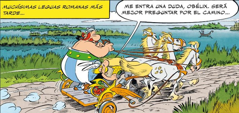 Astérix y Obélix, a la carrera