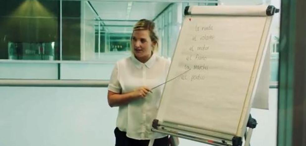 Lecciones de español, el genial vídeo de McLaren