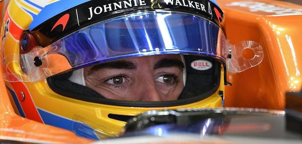 Fernando Alonso renueva un año con McLaren