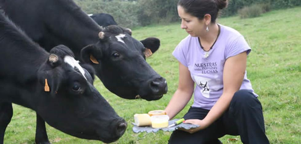 De vacas felices, productos de de alta calidad