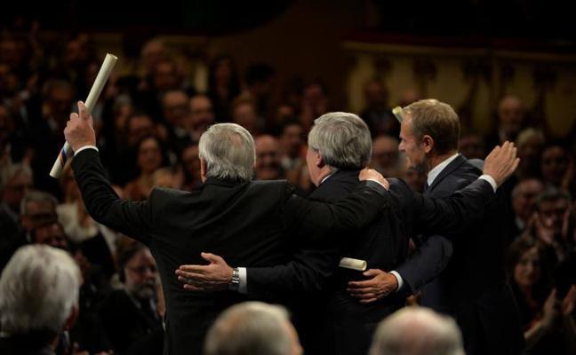 Premios Princesa | Tajani afirma que respetar la ley no es una opción, «es una obligación»