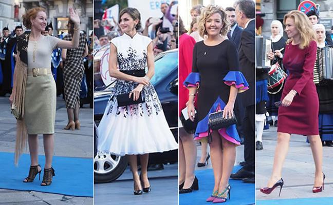¿Quién fue la más elegante en la alfombra azul de los Premios Princesa de Asturias?