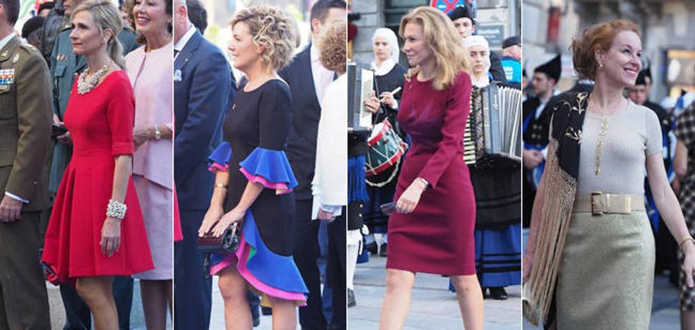 Desfile de elegancia en la alfombra azul de los Premios Princesa