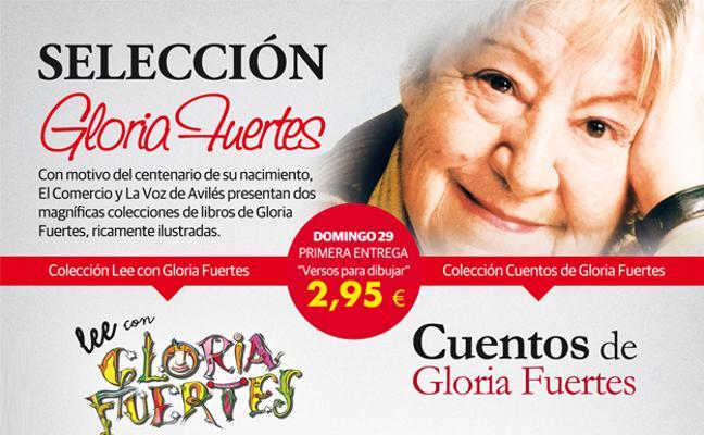 Consigue la colección de cuentos ilustrados de Gloria Fuertes