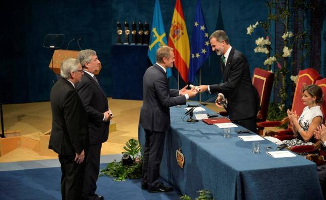 Premios Princesa | «El diálogo es siempre mejor que el conflicto», afirma Tusk