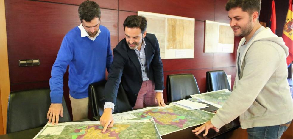 El Ayuntamiento de Noreña estrena cartografía de la red de abastecimiento