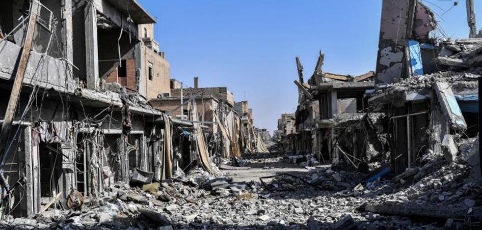 Trump afirma que el fin del califato del Daesh «está a la vista»