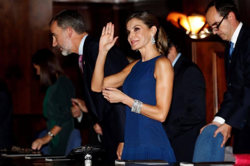 Así ha vestido doña Letizia en los Premios Princesa de Asturias 2017