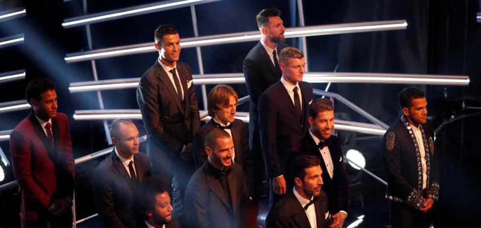 Cinco madridistas en el once ideal de la FIFA