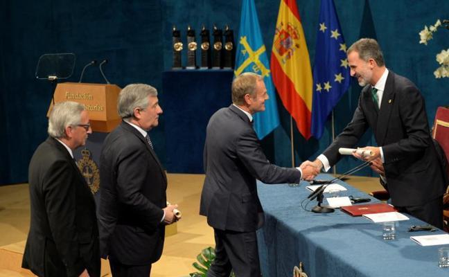 La UE donará a las víctimas de los incendios el dinero del Princesa de Asturias