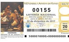 Lotería de Navidad: furor por el número 155