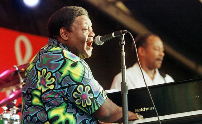 Muere a los 89 años Fats Domino, padre del rock and roll