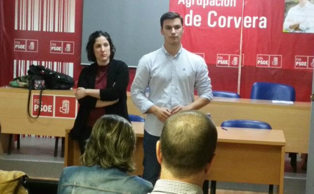 El concejal Jorge Suárez Jaimes opta a la secretaría general del PSOE local
