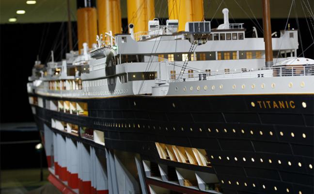 Los Jardines de El Náutico albergarán la muestra 'Titanic The Reconstruction'