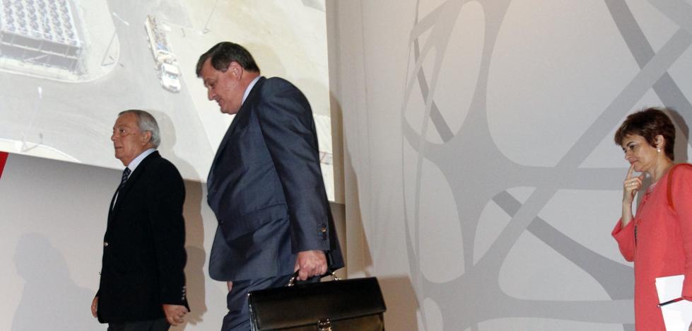 Del Valle se despide de Duro: «Me dedicaré a mis cosas sin desatender el consejo»