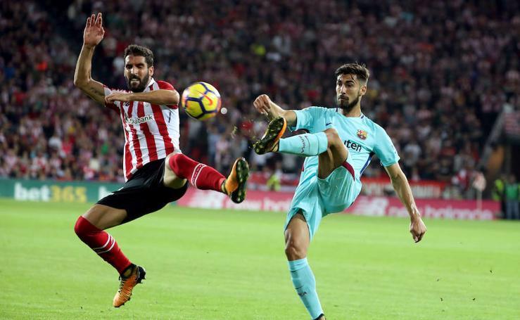 Athletic-Barcelona, en imágenes
