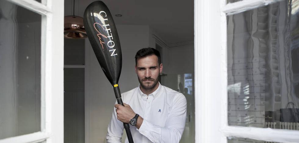 Saúl Craviotto: «Manda narices que ahora me conozcan como el cocinero»