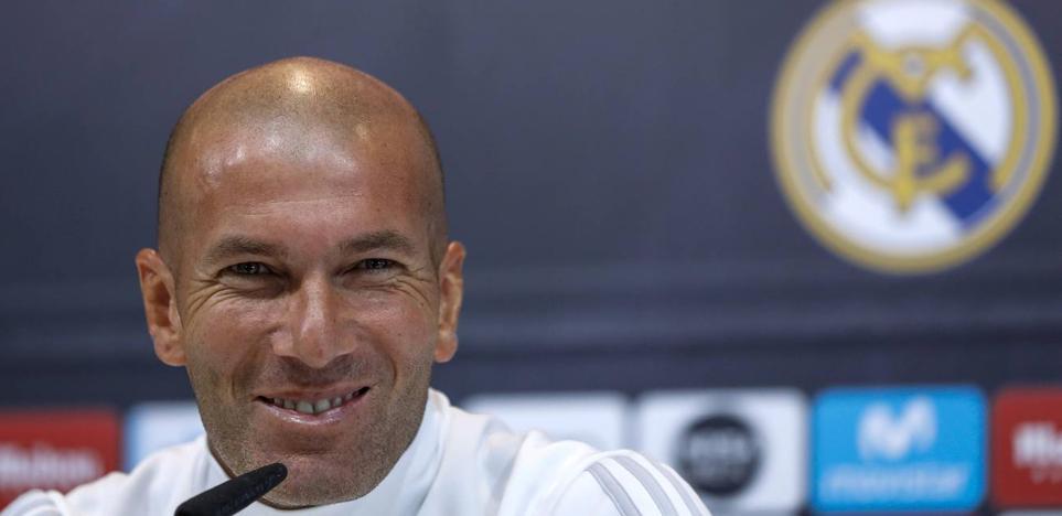 Zidane: «Sé que hay mucho ruido pero sólo pienso en el partido»