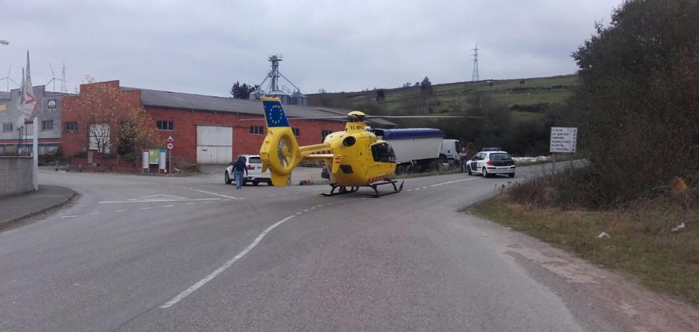 Dos menores, heridos tras colarse en el circuito de karts de La Espina