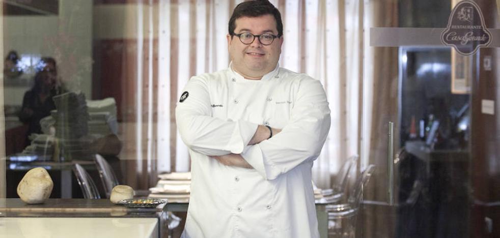 Marcos Morán, distinguido por la Real Academia de Gastronomía