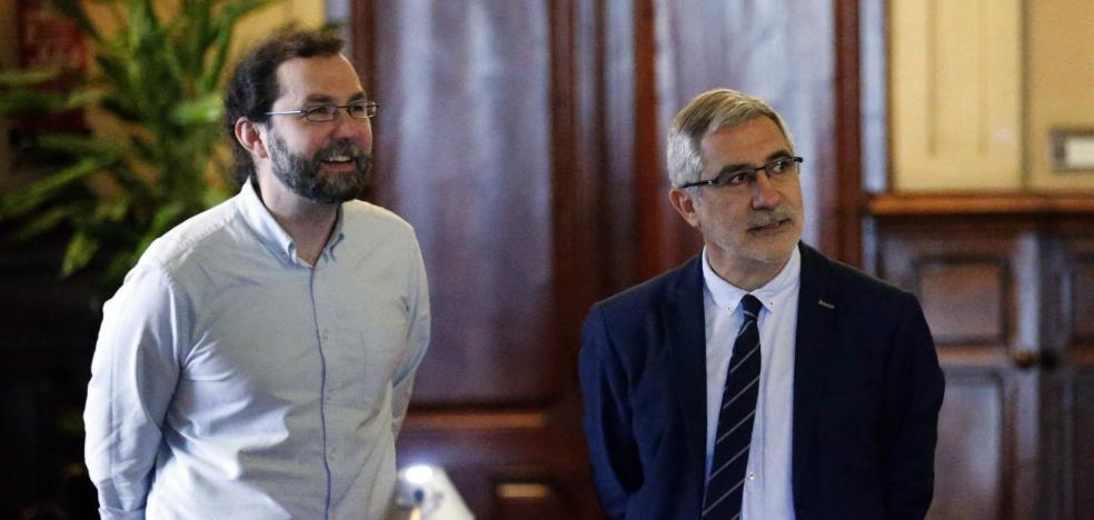 La crisis política en Cataluña agranda la brecha entre Podemos e IU en Asturias