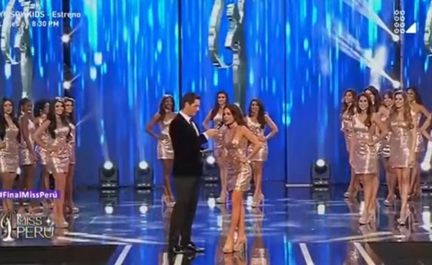 Risultati immagini per Miss Perú: candidatas dieron cifras de feminicidio