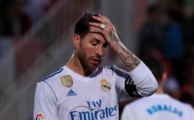 Sergio Ramos: «No sería la primera Liga en la que se remontan ocho puntos»