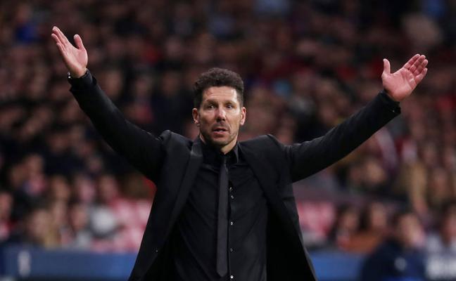 Simeone: «El destino nos está echando un pulso con el gol»