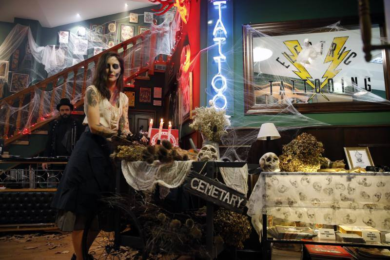 Halloween y tatuajes: una mezcla terrorífica en Gijón