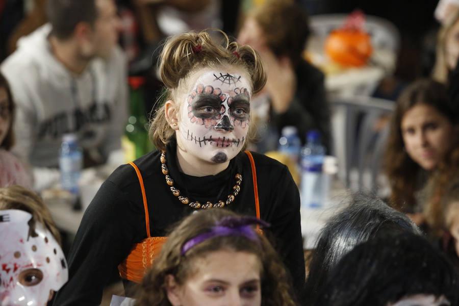 El Llano celebra Halloween
