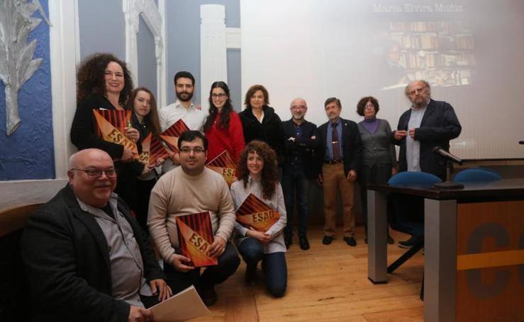 Homenaje a la literatura de María Elvira Muñiz