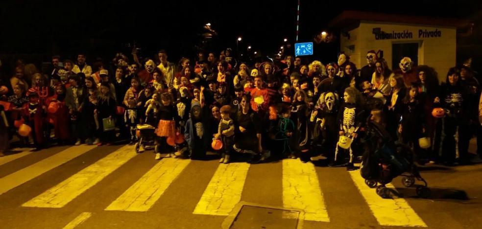 Doscientas personas en el Halloween de Xivares