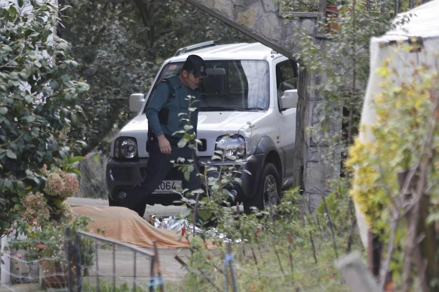 Un padre mata a su hijo en El Entrego