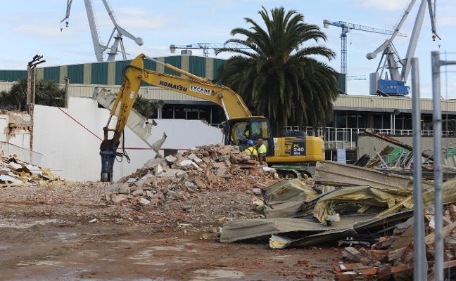 El Santa Olaya negocia con Solvia hacer un aparcamiento tras las demoliciones